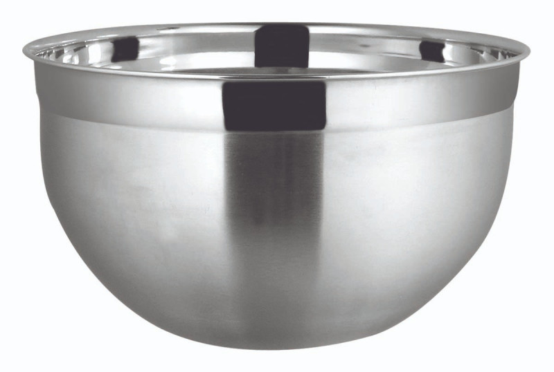 TIGELA MIXING BOWL 25,5 CM Ø INOX ESCOVADO 4,6 L